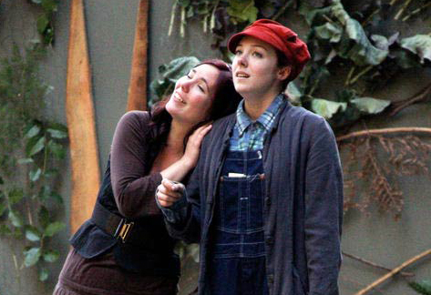 Bristol Branson (Celia) and Olena Hodges (Rosalind), ISF 2010, Directed by Susannah Rose Woods